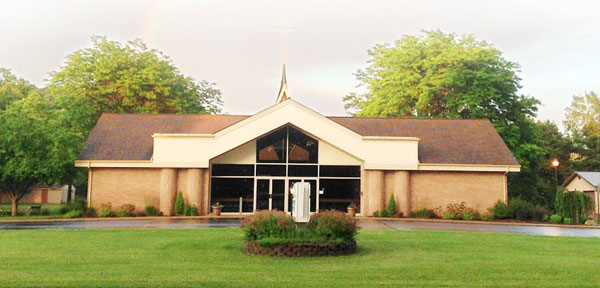 blythefield christian reformed church front